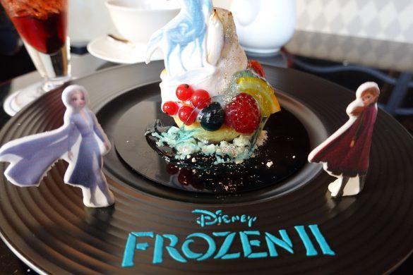 ディズニーアンバサダーホテル「ハイピリオン・ラウンジ」、ディズニー映画『アナと雪の女王2』スペシャルケーキセット(¥2,000)