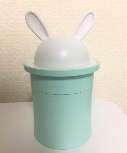 ミニ加湿器(うさぎ)500円+税/DAISO