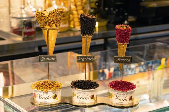 冬にアイス イタリアの老舗チョコレート・ジェラート専門店「Venchi(ヴェンキ)」(東京都・銀座)