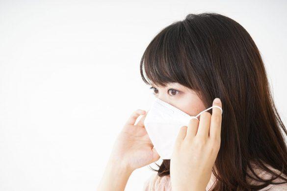 インフル予防にマスクを二重にしてみ意味はない