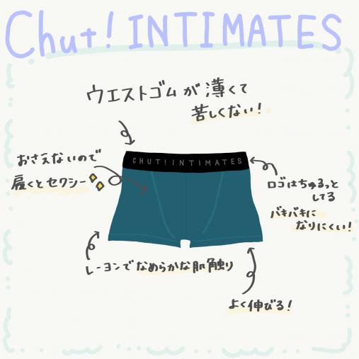 Chut! INTIMATES(シュット!インティメイツ)「MENS BOXER_M001」¥2,750
