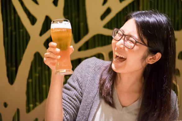 ホットヨガ終わりのビールが格別!