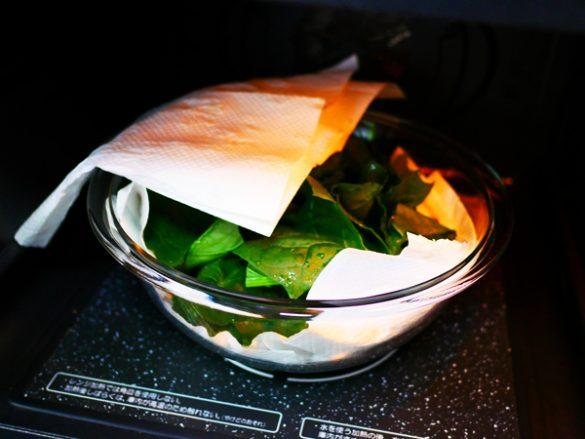 プロ級ナムルをレンチンだけで作る カンタンレシピ
