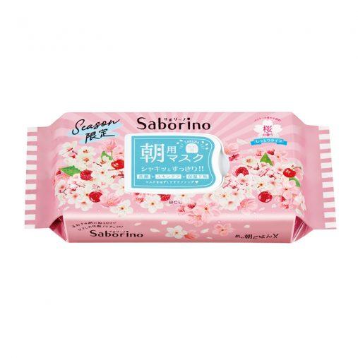 サボリーノ「目ざまシート 桜の香り」28枚入り 1,300円