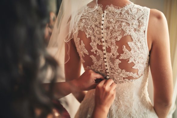 ウェディングドレス 新婦 結婚式