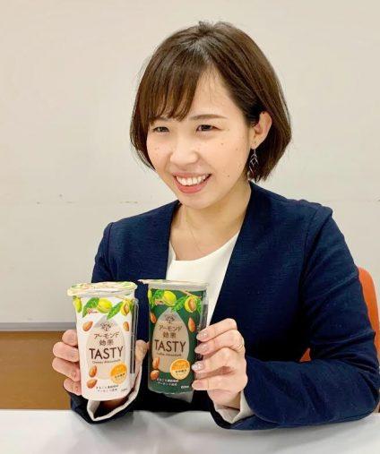 アーモンド効果TASTY担当の長尾悠子さん