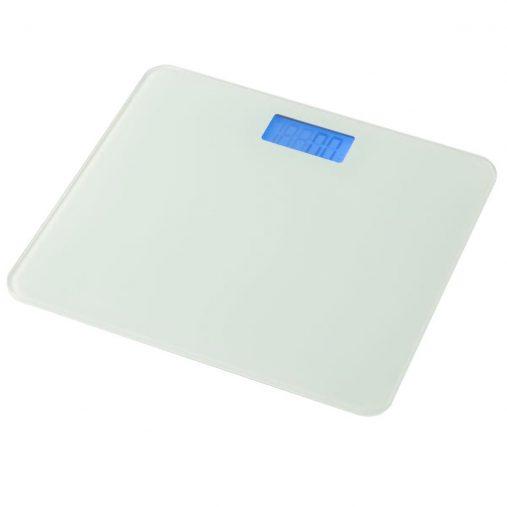 「デジタルガラス体重計(ホワイト)」1,380円