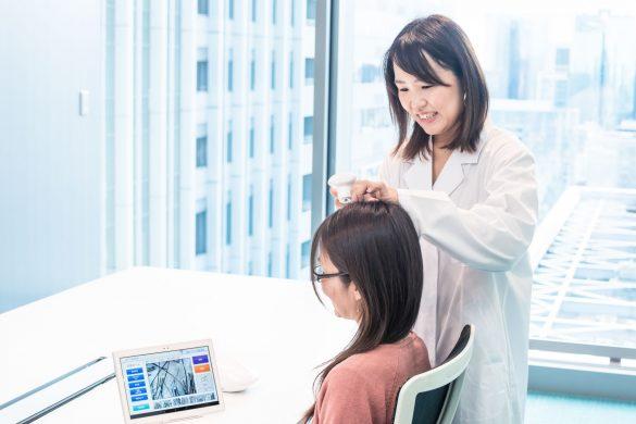 毛髪診断 アンファー商品開発課・毛髪診断士 北川愛子さん