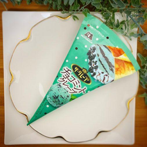 ローソン限定「ザ・クレープ」 チョコミントクレープ/森永製菓(184円)