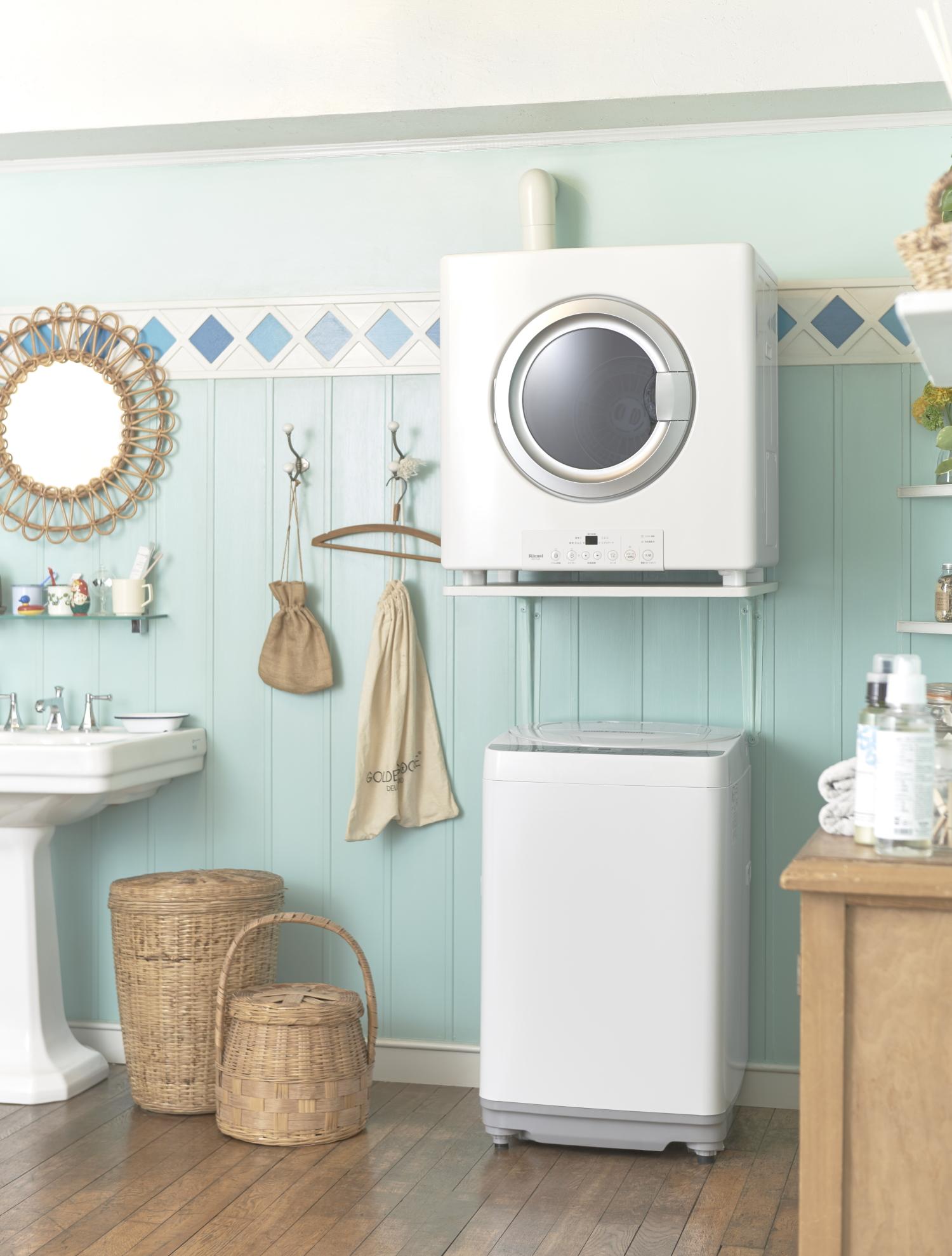 リンナイ 家庭用ガス衣類乾燥機「乾太くん」RDT-54S-SV
