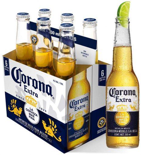 ビール コロナ・エキストラ ボトル [ メキシコ 355ml×6本 ] Amazon販売ページより