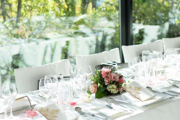 披露宴のテーブル 結婚式