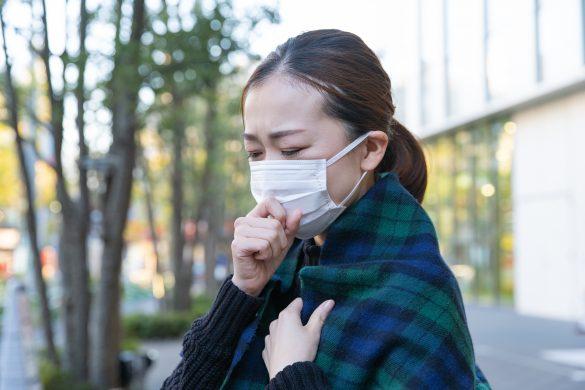 マスクをしてても止まらない鼻水とくしゃみ