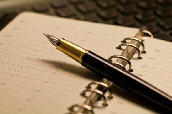 ホワイトデーのお返しに万年筆をもらう