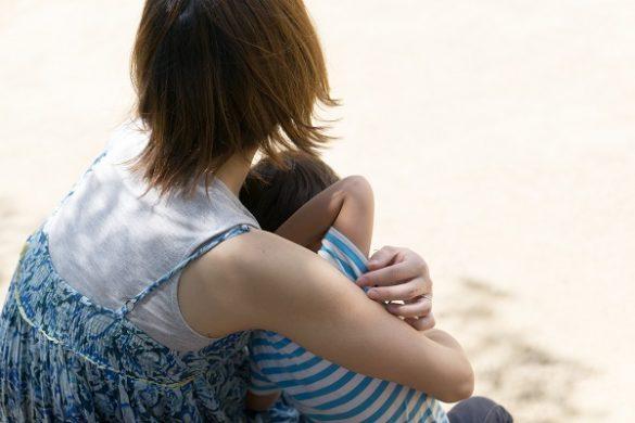 シングルマザーの子育て