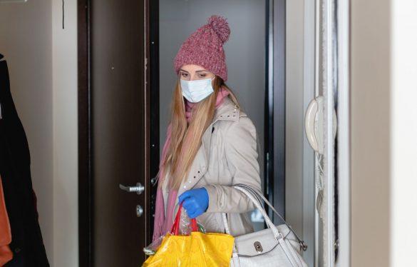 マスク、ロックダウン、新型コロナウイルス