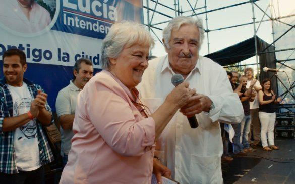 ルシア・トポランスキーとホセ・ムヒカ夫妻『世界でいちばん貧しい大統領 愛と闘争の男、ホセ・ムヒカ』より