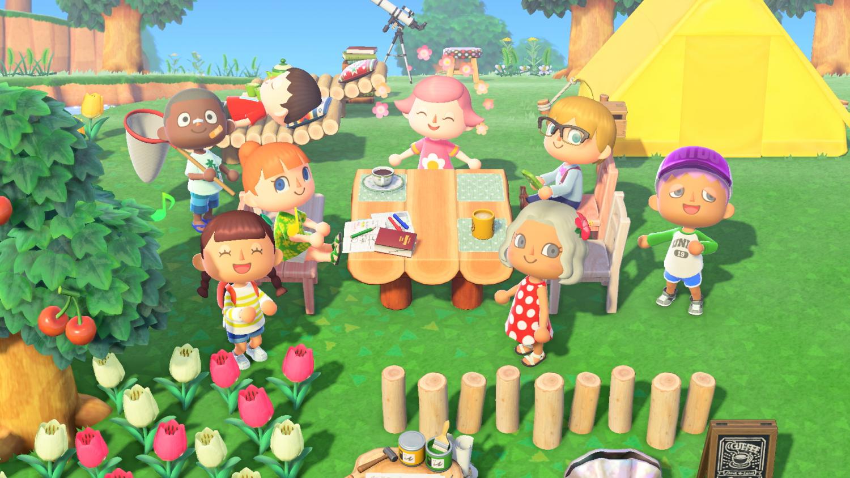 『あつまれ どうぶつの森』(Nintendo)