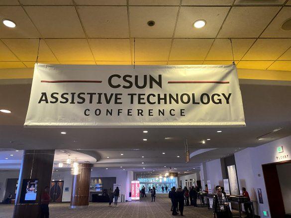 CSUNカンファレンス(国際障害者技術支援会議)の様子
