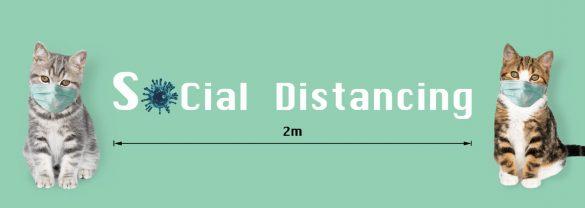 ソーシャルディスタンスsocial distancing