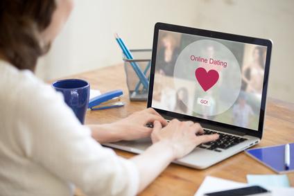 オンラインセックス、デート、チャット、パソコン