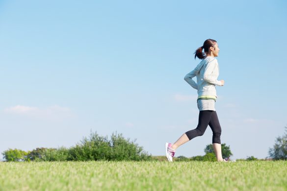 運動不足解消にジョギングを始める