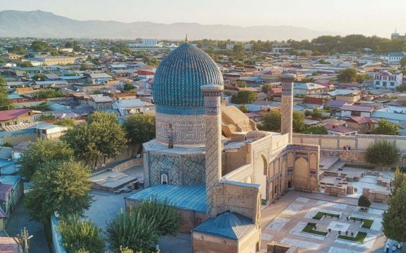 ウズベキスタンの古都・サマルカンド