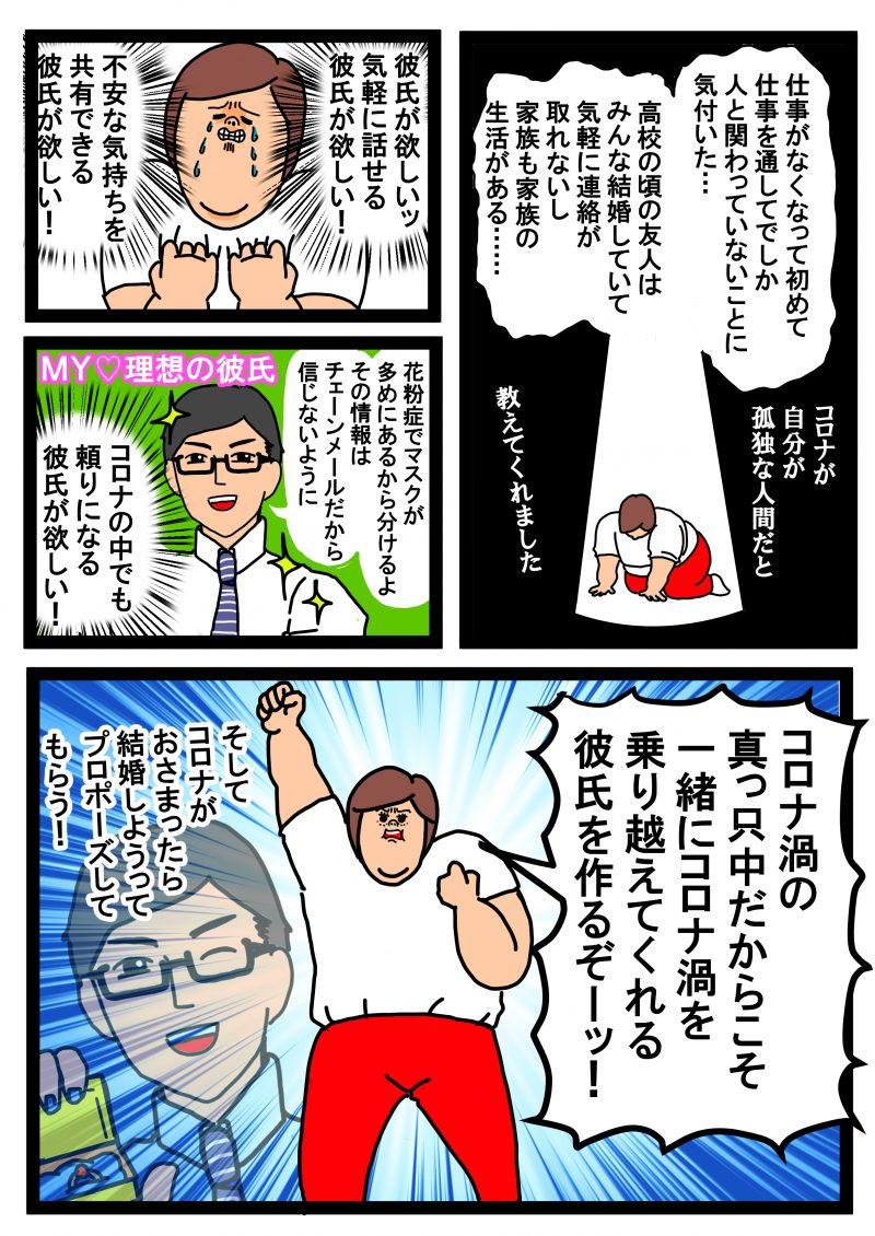 ハニートラップ八木婚活漫画3