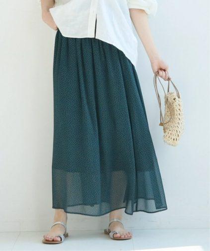 Spick & Span「#VILLEFRANCHEシャーリングスカート」¥14,300(税込み)