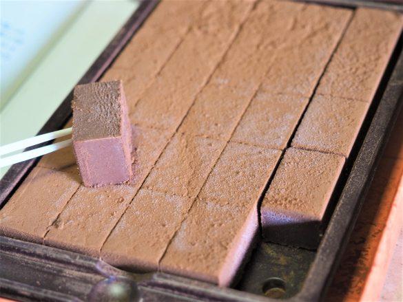 砂糖不使用とは思えない美味しさの生チョコ風菓子