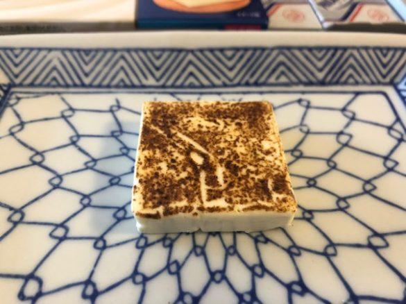 明太子や〆サバなど定番食材を炙ってみた!・クリームチーズ完成