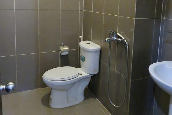 カナコさんが宿泊したベトナムのホテルのトイレ