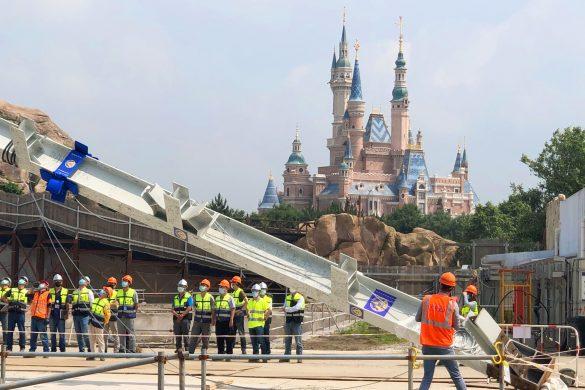 上海パークで建設中のディズニー映画『ズートピア』がテーマのエリア