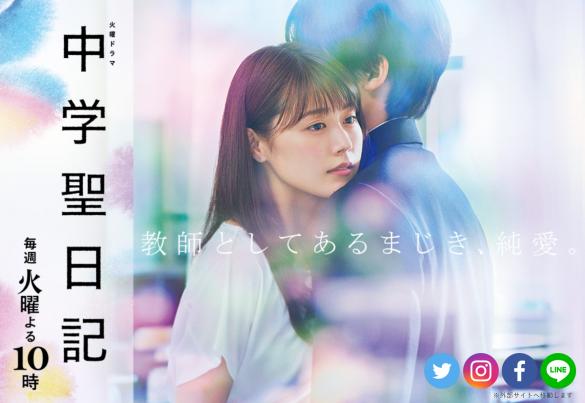 (画像:「中学聖日記」TBS公式サイトより)