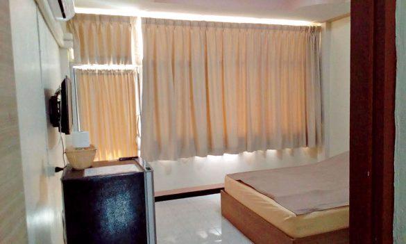 三宅さんのバンコクの自宅アパート。現地採用では駐在員が暮らすようなコンドミニアムに住むのは不可能とか