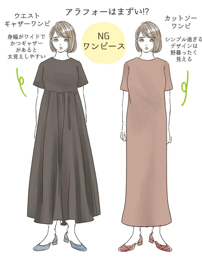 NGワンピースの特徴