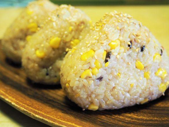 アレンジ1:バター醤油とうもろこしご飯