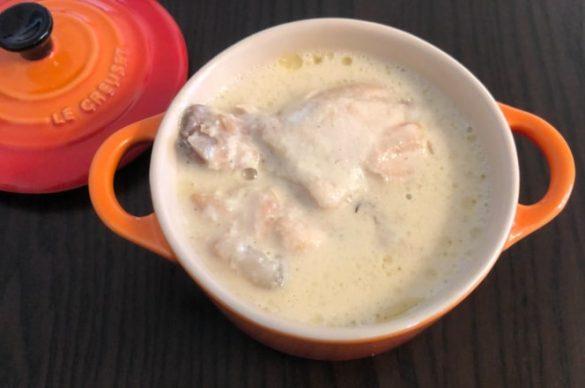 シュクメルリ写真2松原食品『ジョージア料理シュクメルリ』