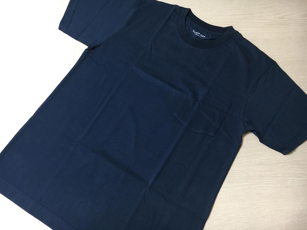 「TURN OFF/ターンオフ」デオドラントTシャツ