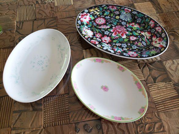 4雰囲気のあるお皿オーバル皿