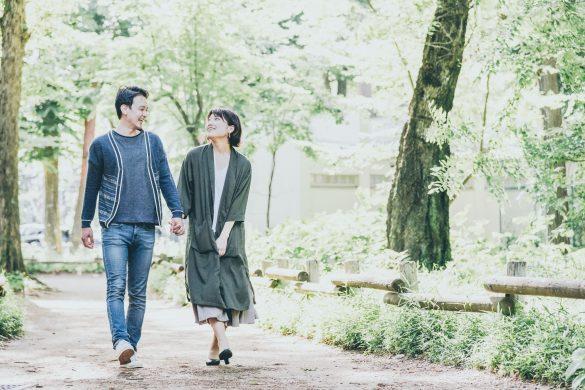 散歩デート