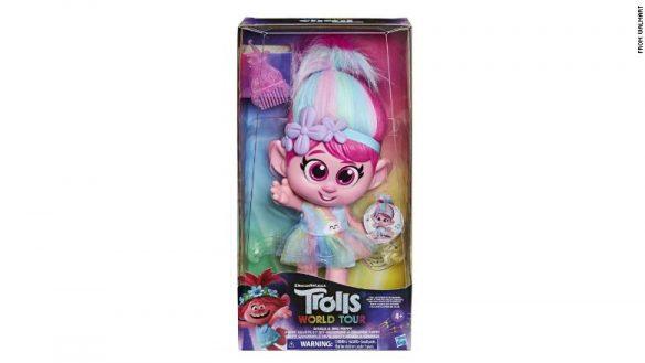 Hasbro(ハズブロ)が発売した「Trolls World Tour Giggle and Sing Poppy」