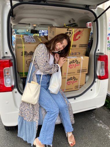 「令和2年7月豪雨」被災地・熊本県人吉市の小学校や神社にボランティアで訪れたスザンヌさん