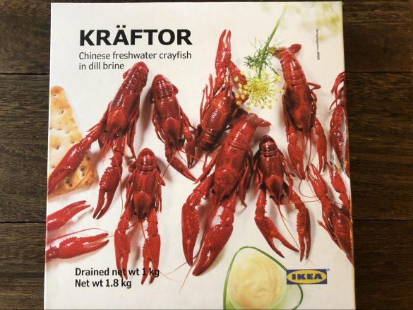 クレフトル 冷凍ザリガニ ディル入り塩水漬け2990円(税込)