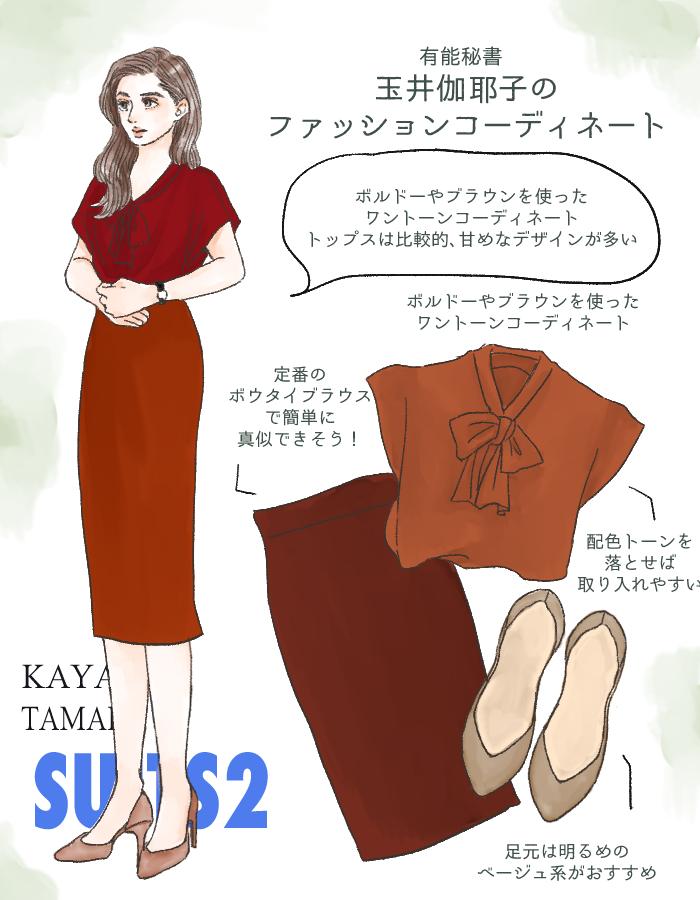 『SUITS/スーツ2』玉井伽耶子(中村アン)
