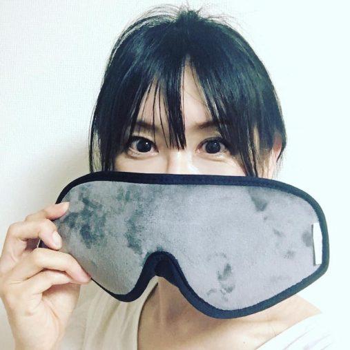 『スリープマスク』意外と大きい!