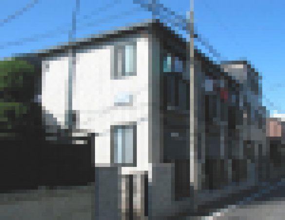 川名さん親子が暮らすアパート