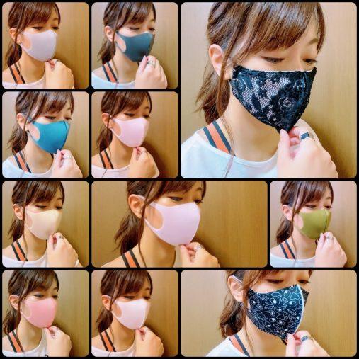 マスクもファッションの一部に