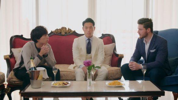 episode5でエバンズ マラカイさん、牧野さん、榿澤さん