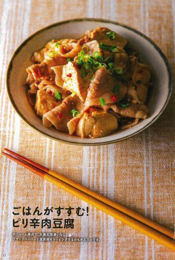 ☆ごはんがすすむピリ辛肉豆腐